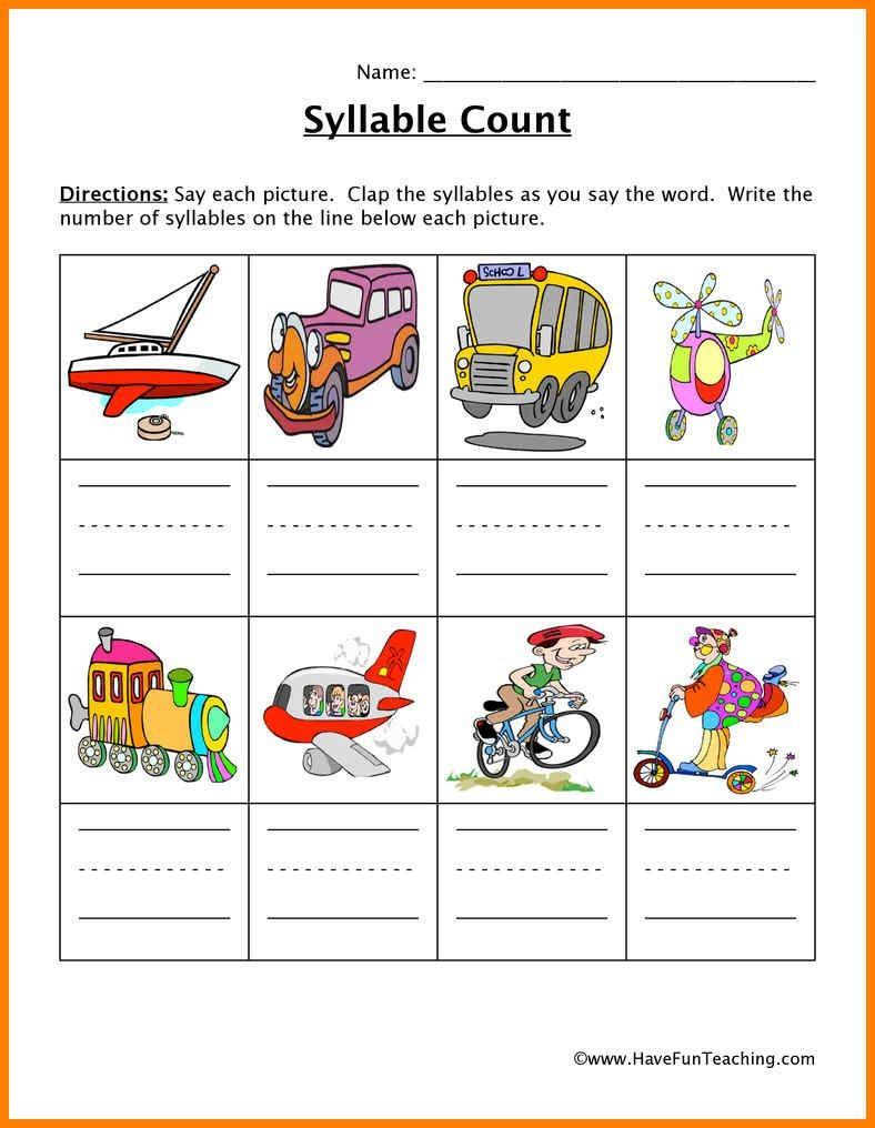 Decoding Multisyllabic Words Worksheets