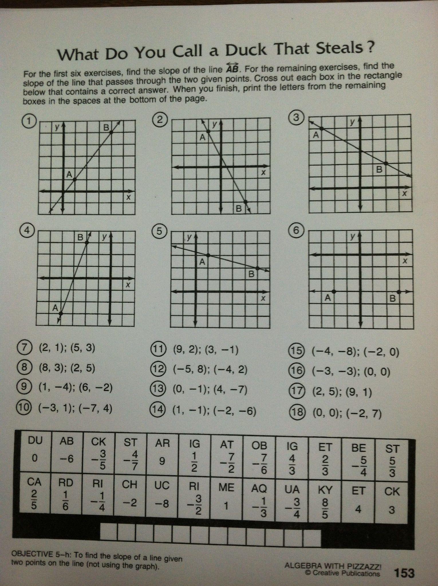 Did You Hear About Math Worksheet Answer Key — db excel.com