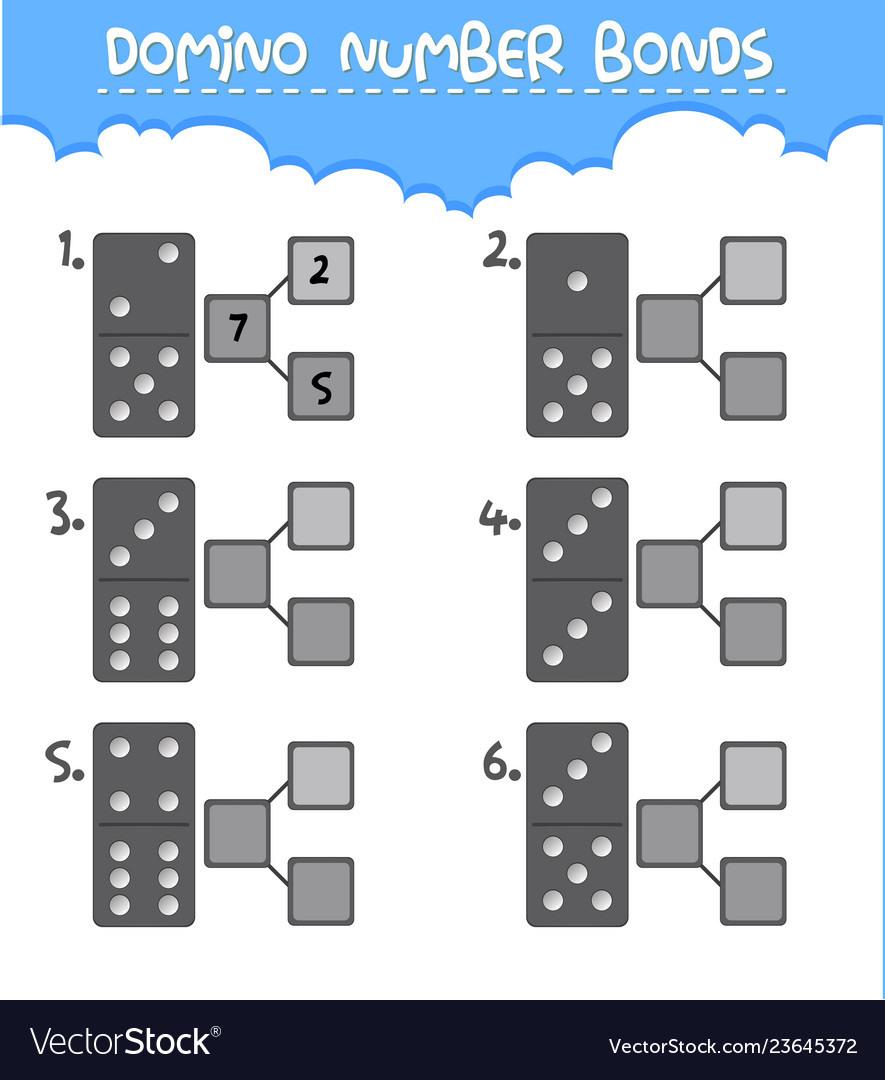 Domino Number Bonds Worksheet