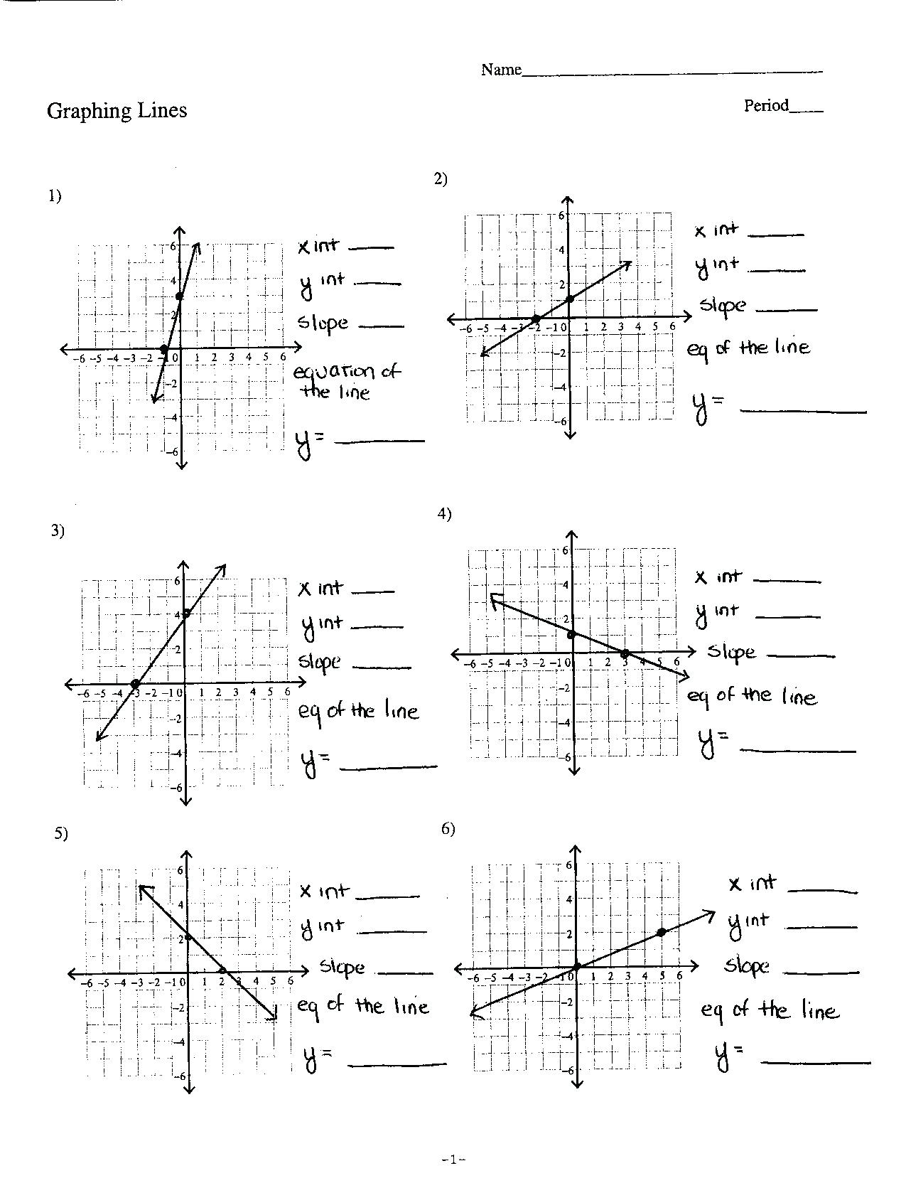 Form Kuta Softre Standard Of Linear Equation Answer Key ...