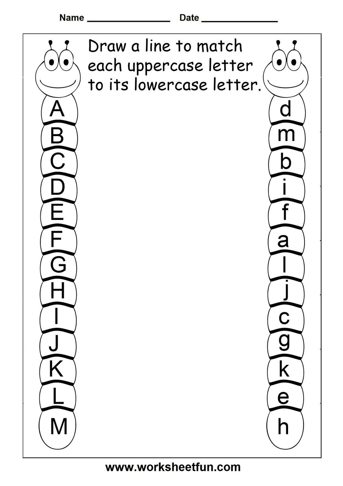 Preschool Abc Worksheets | db-excel.com