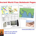 Free Ancient World Worksheets Egypt Mesopotamia India