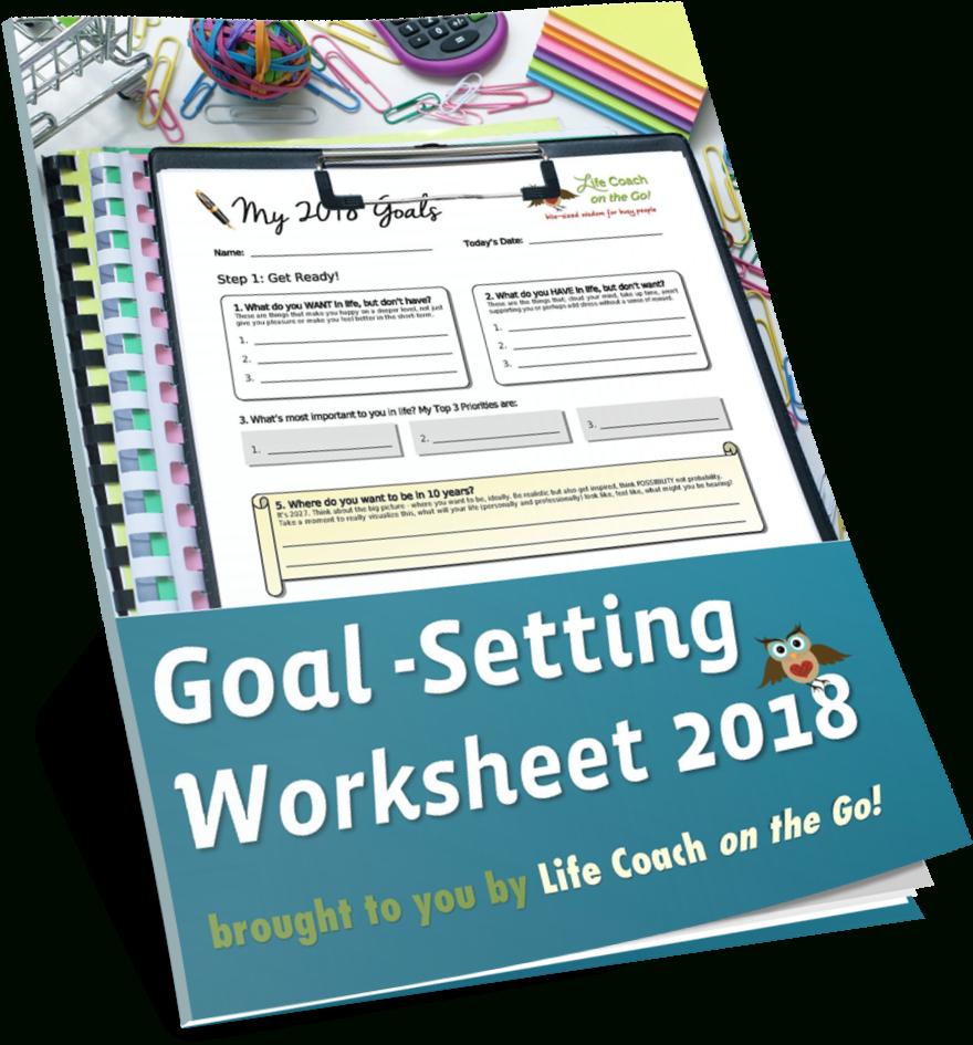 Free Annual Worksheet Pdf Life Coach On  Goal Setting 2019
