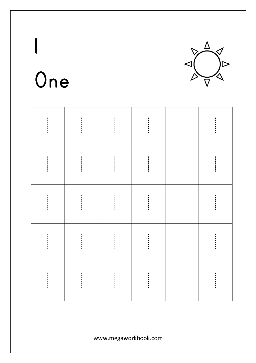 Free Printable Number Tracing And Writing 110 Worksheets