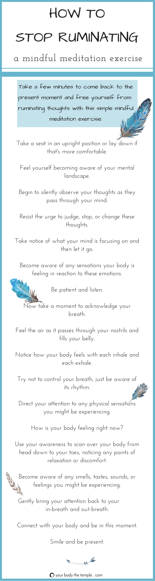 How To Stop Ruminating With Mindful Practice  Ybtt