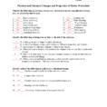 Matter Homework Packetkey