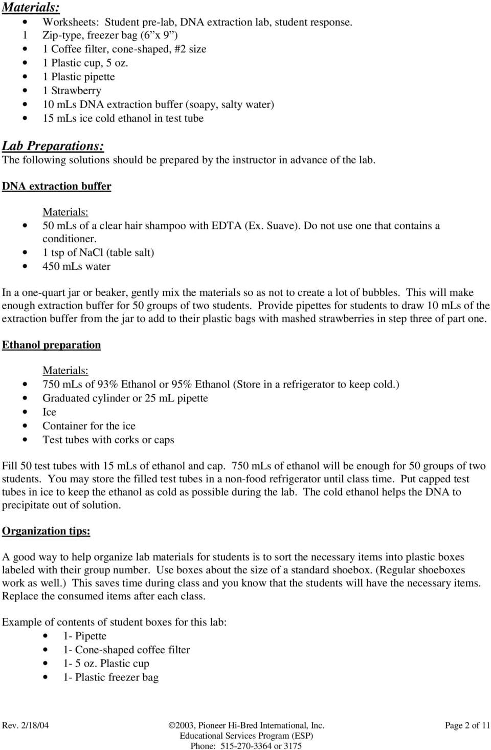 Module 3 Strawberry Dna Extraction Pdf | db-excel.com