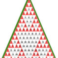 Pascal's Triangle Christmas Tree Patterns Math Activity