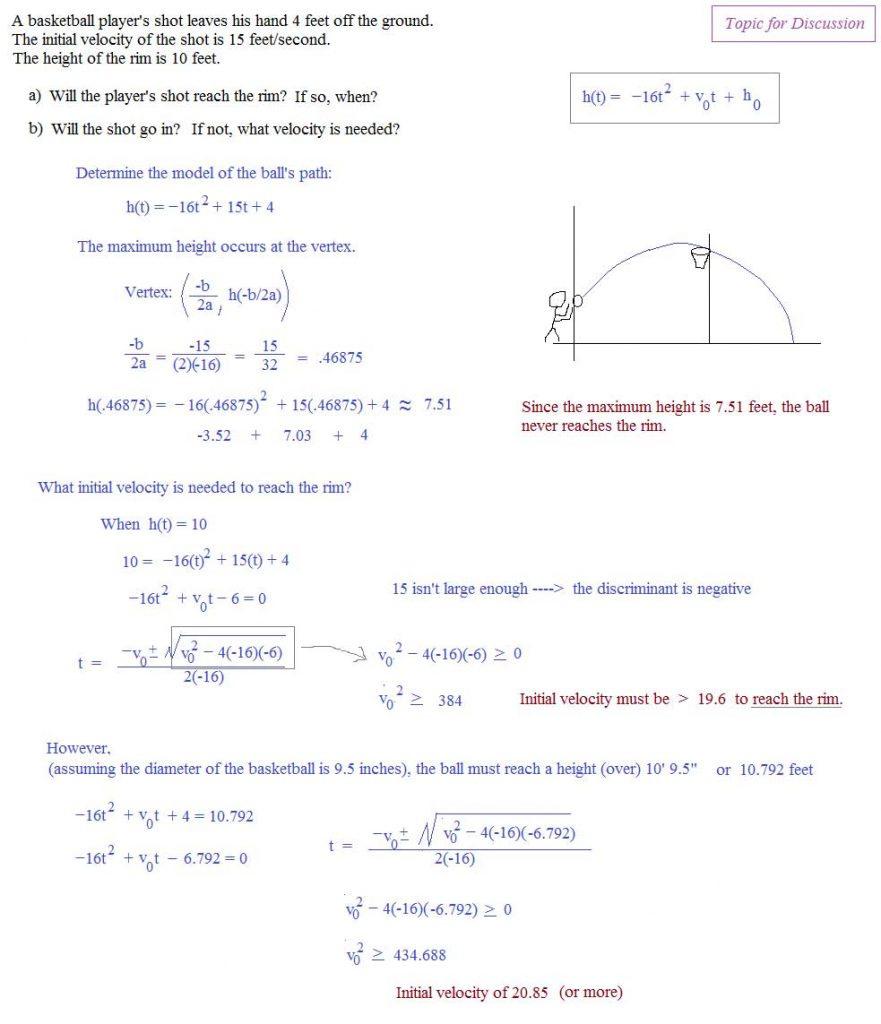 Quadratic Formula Worksheet With Answers — db excel.com