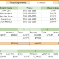 Rental Income And Expense Worksheet  Propertymanagement