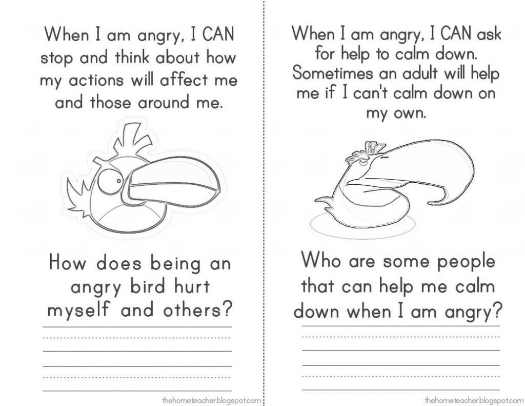 Sg Anger Management Anger Management Worksheets For Kids Pdf