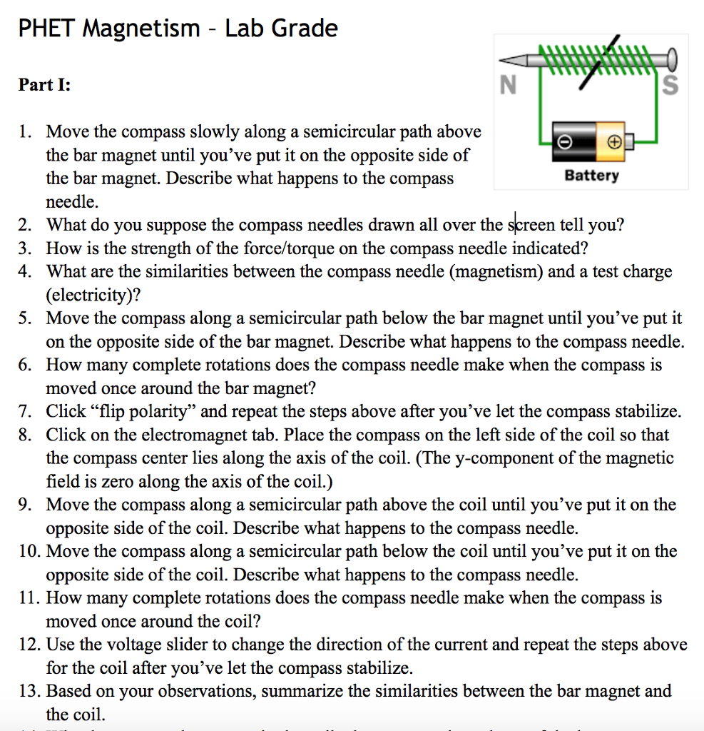 Magnetism Worksheet Answers — db excel.com