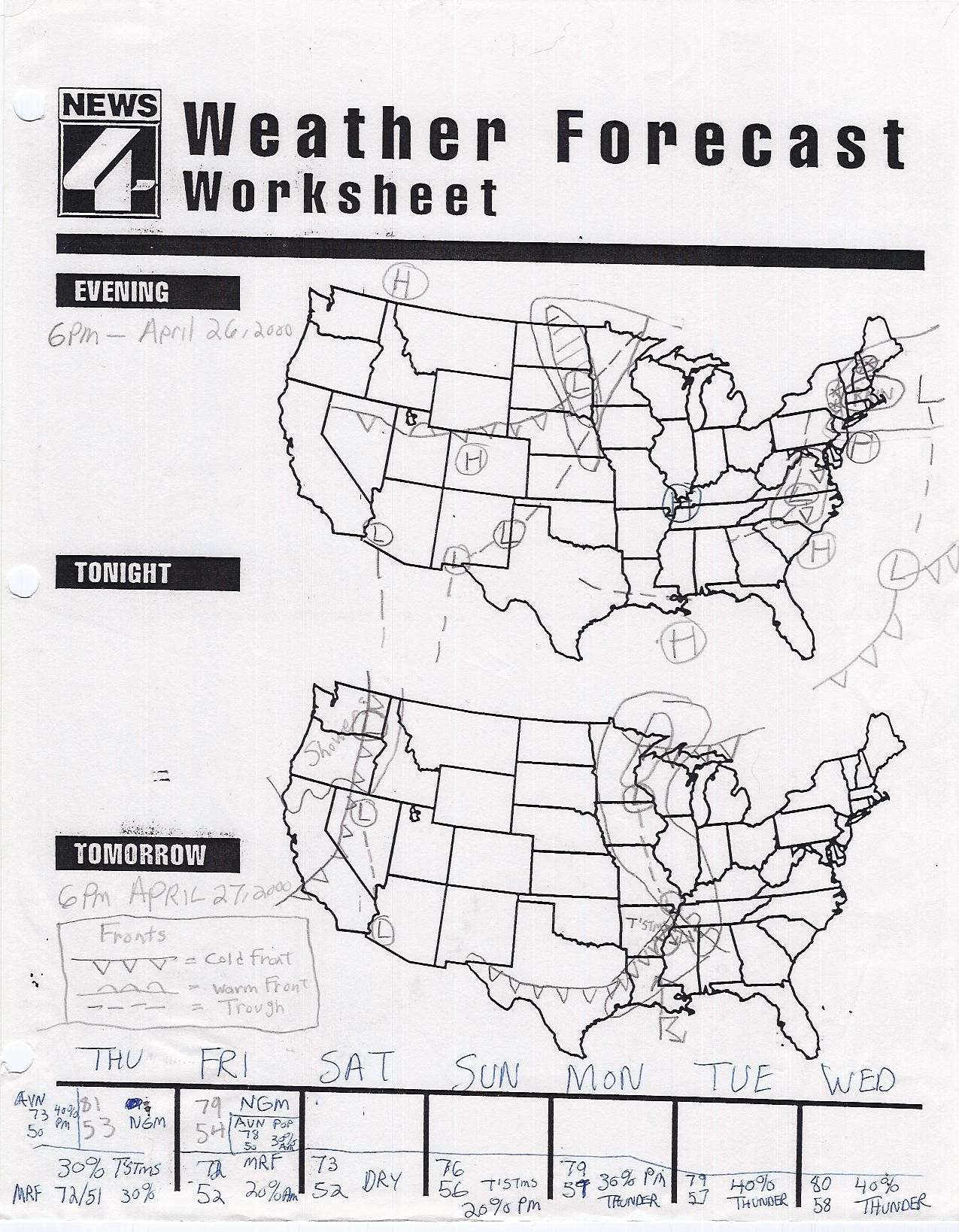Topographic Map Reading Worksheet Answer Key — db excel.com