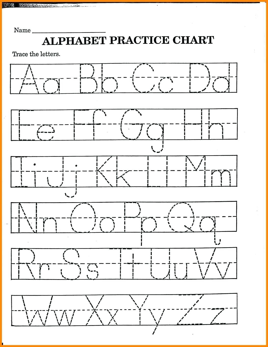 Trace Your Name Worksheets – Fiestaprintco