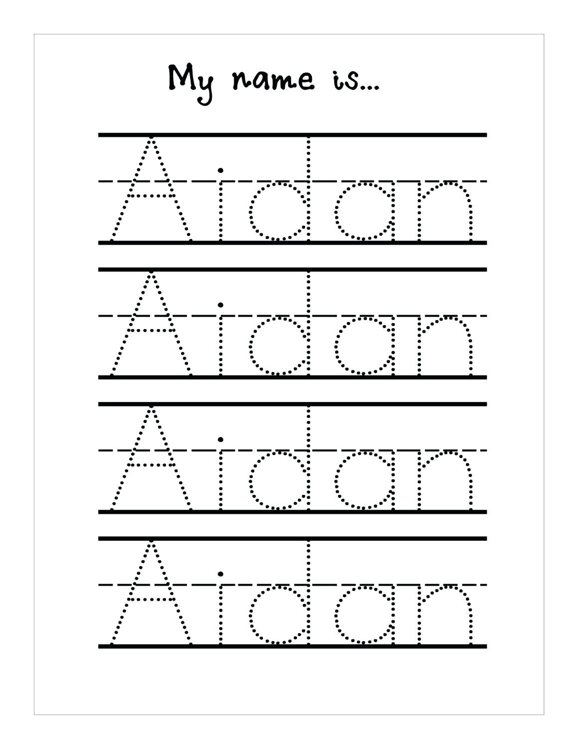 Tracing Lines Worksheets For 3 Year Olds Pdf Printable ...
