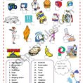 Vocabulary  English Spanish Cognates  Esl Worksheetpacchy