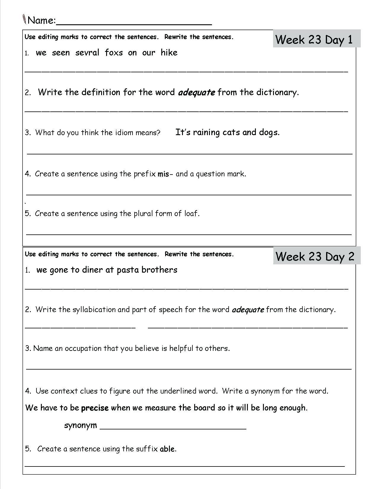 Worksheet 3Rd Grade Reading Comprehension Worksheets — db ...