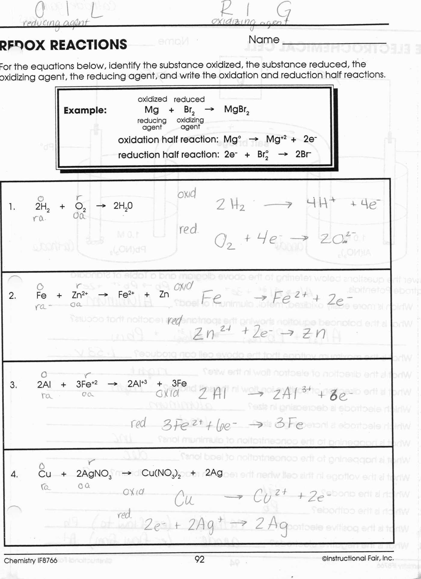 Chemical Bonding Worksheet Answers — db excel.com