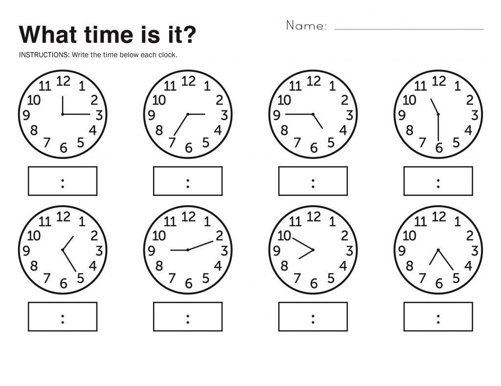 2Nd Grade Time Worksheets | db-excel.com