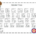 Worksheet Ideas  Tracing Alphabet Free Kids Trace Judebell