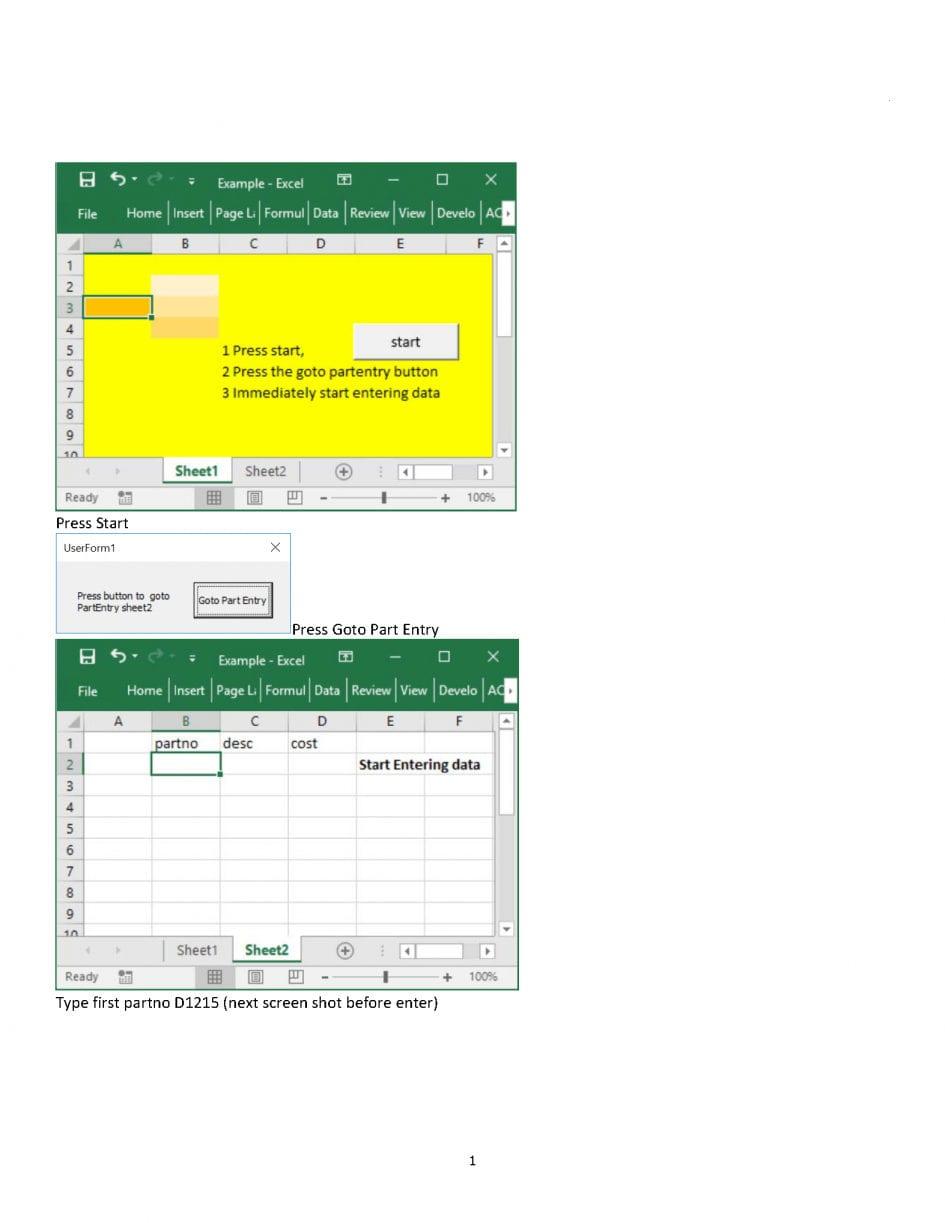 Worksheet Like Kind Exchange Worksheet Excel Vba Userform ...