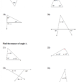 Worksheet Triangle Angle Sum Worksheet Math Worksheets For
