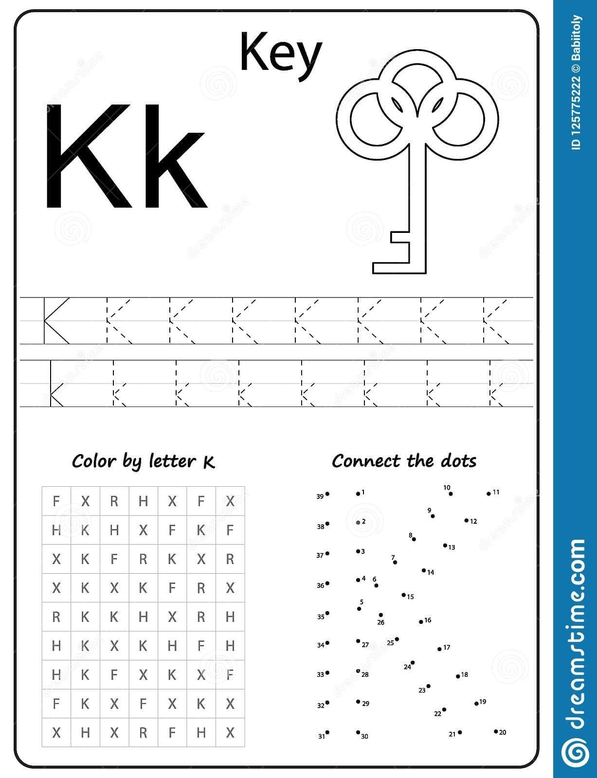 Letter K Worksheets For Kindergarten | db-excel.com